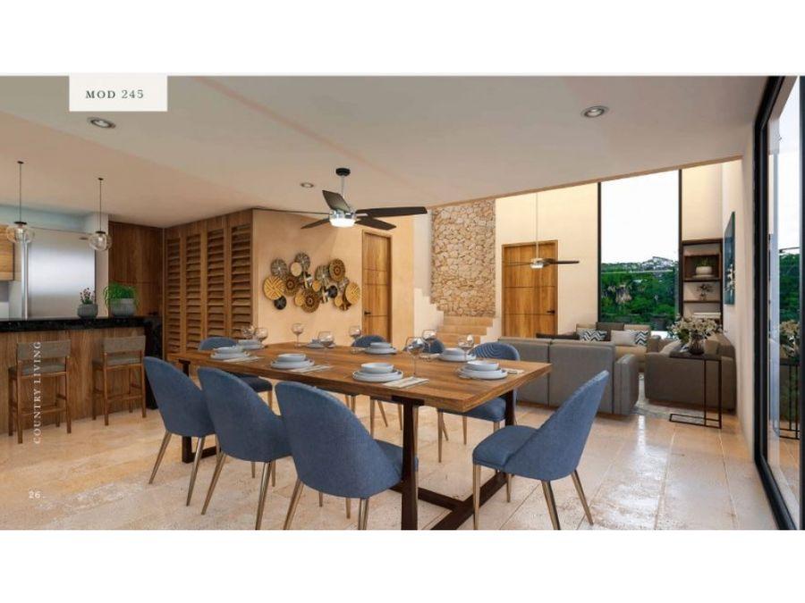 preciosas casas de 2 plantas en el desarrollo rocio