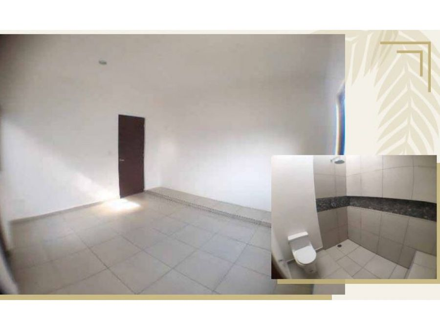 preventa residencial ebano en conkal de un piso