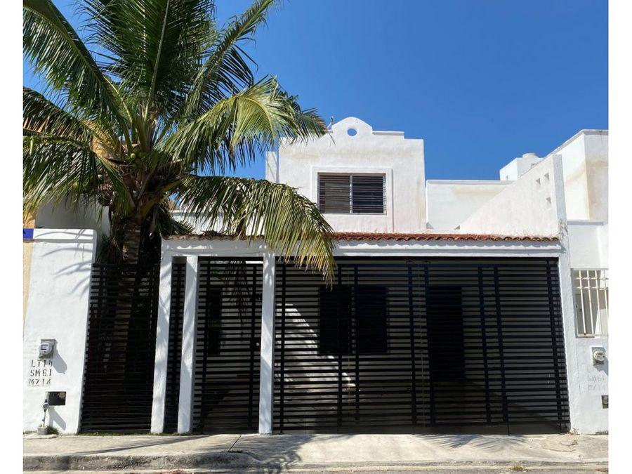 se vende casa en playa del carmen