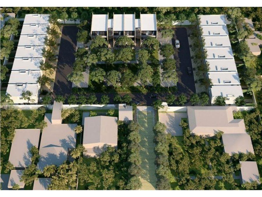 privada kanahil casas de 2 plantas en chuburna
