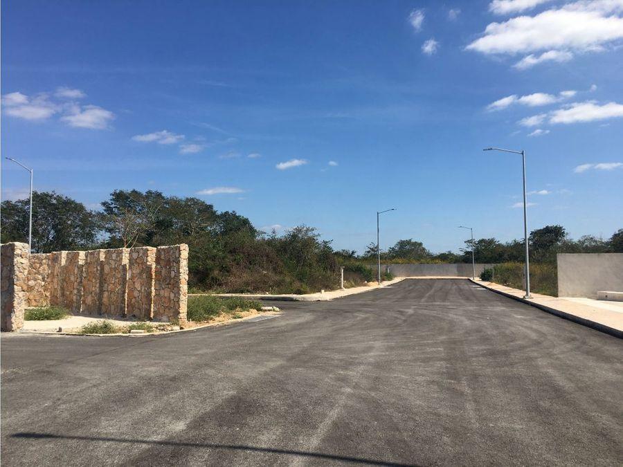 lotes en complejo endora en conkal yucatan