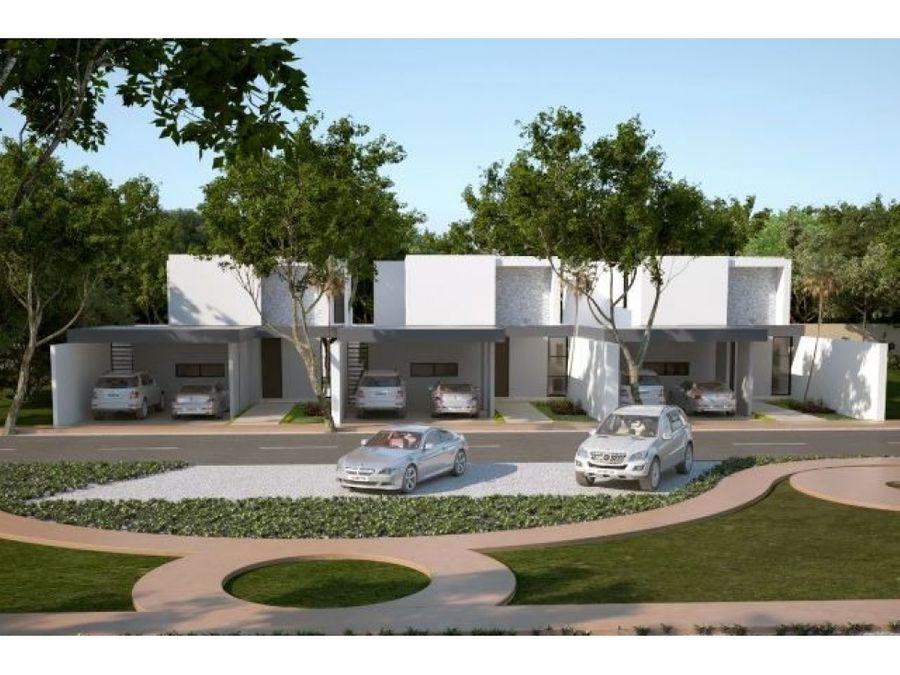 residenciales nadira en conkal 2 3 o 4 recamaras