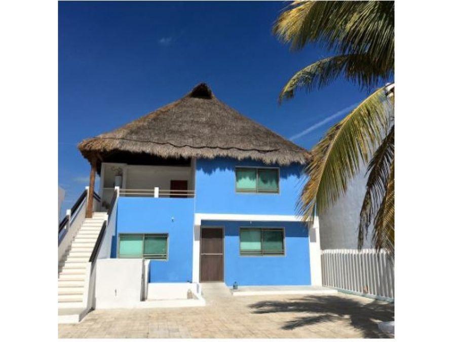 preciosa casa en la orilla del mar de chelem