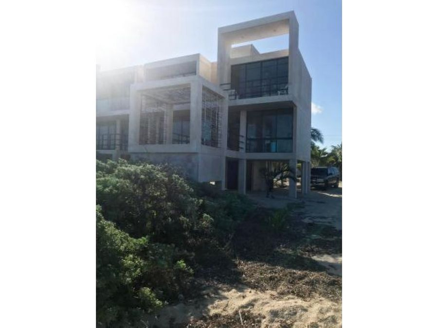 casa amueblada en san benito frente al mar
