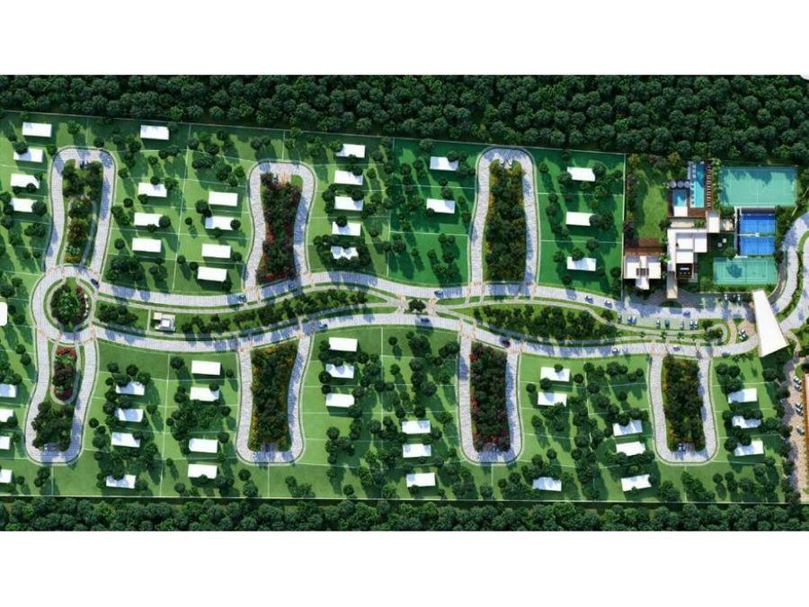 lotes residenciales en tamanche norte