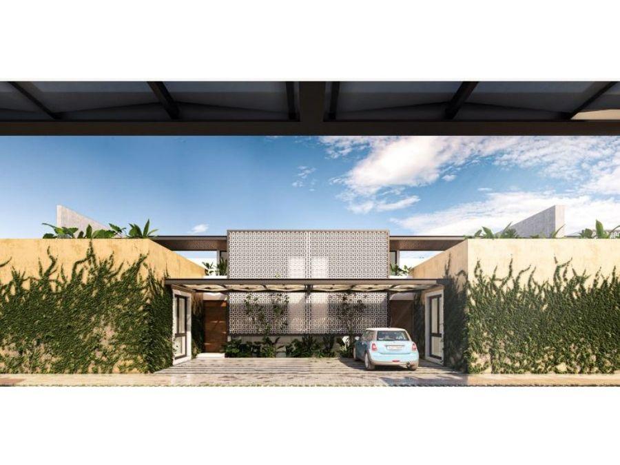 maruva villas en cholul con ventiladores inteligentes