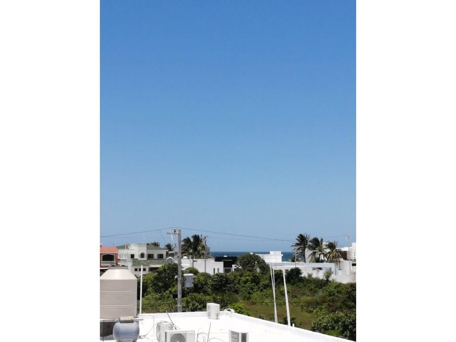 casa mirador a 180 metros del mar de progreso