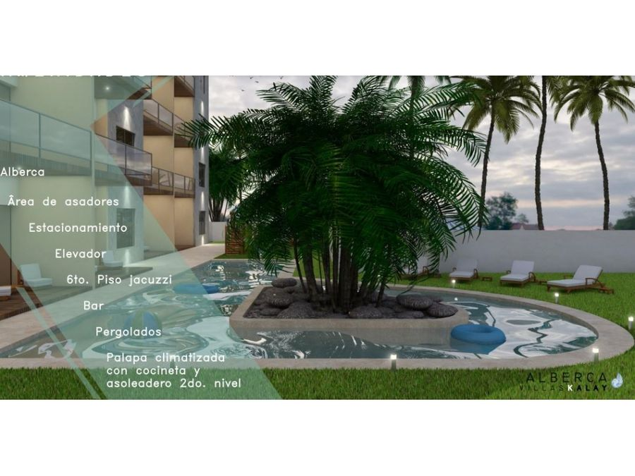 30 enganche1 ano sin intereses villas kalay en la playa chicxulub