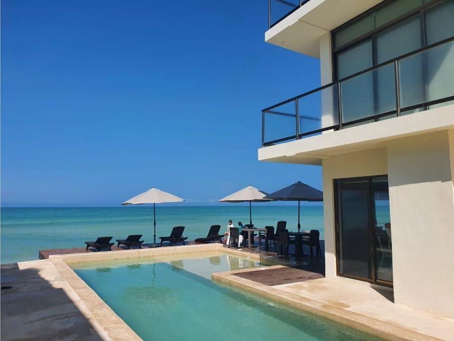 lujosos depas brown frente al mar san benito yucatan