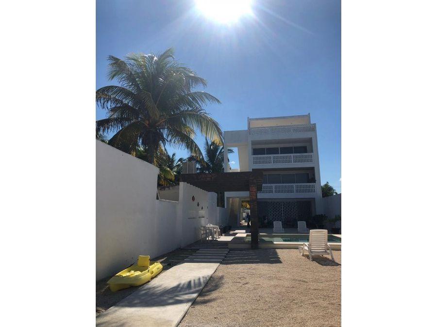 maravilloso condominio en planta baja en la playa