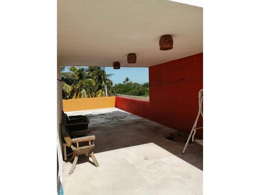 casa luna cerca del mar en chelem yucatan