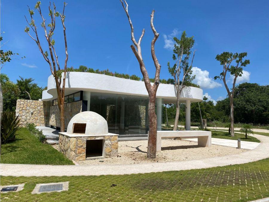 construye en temozon casas privada con amplias instalaciones