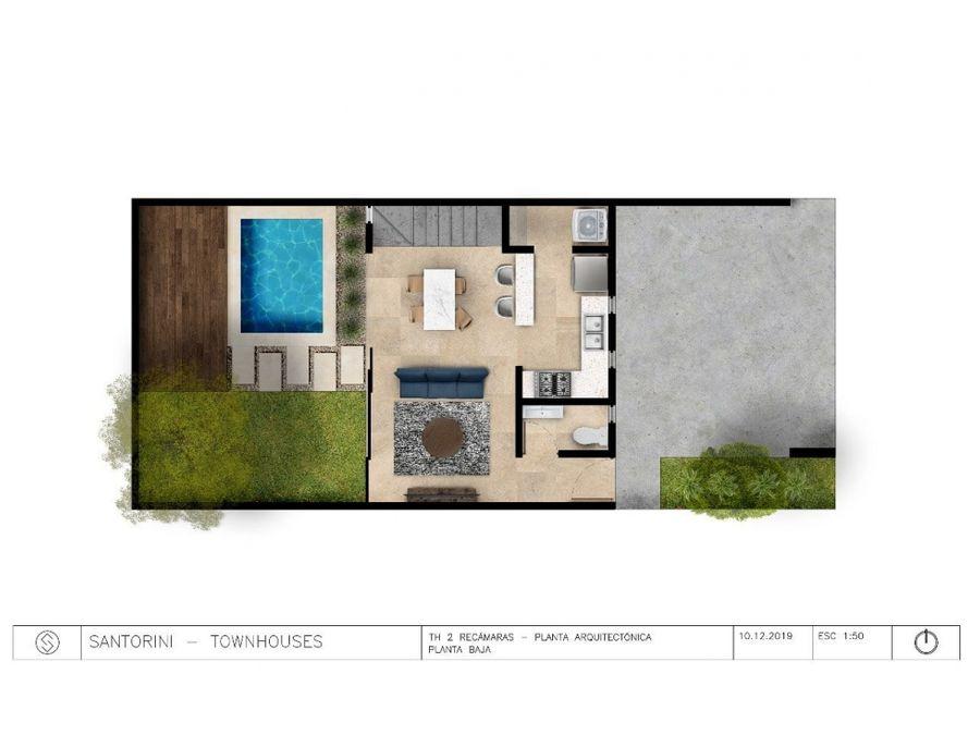 townhouses santorini 2 recamaras en chuburna hdg merida yucatan
