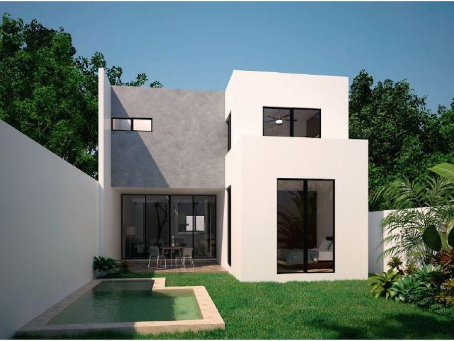 casa modelo standar en privada zendera
