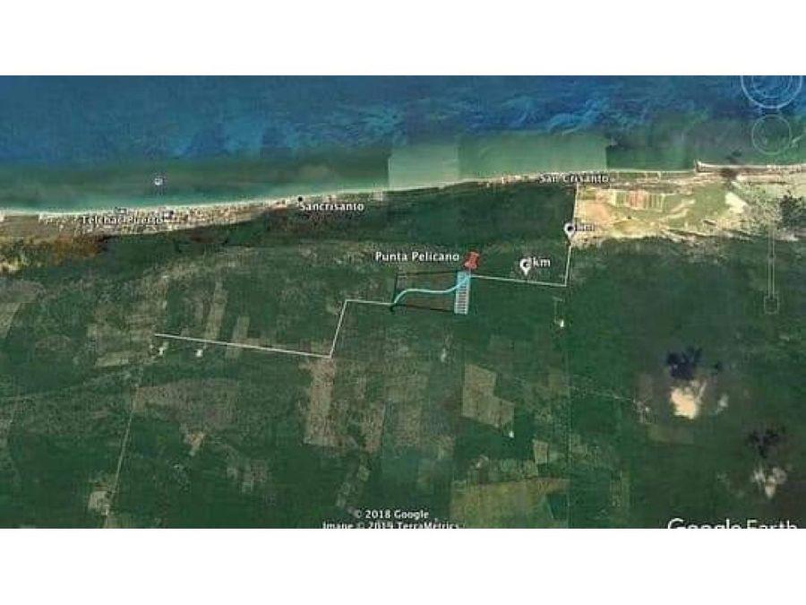 se vende terreno rustico cerca de telchac puerto