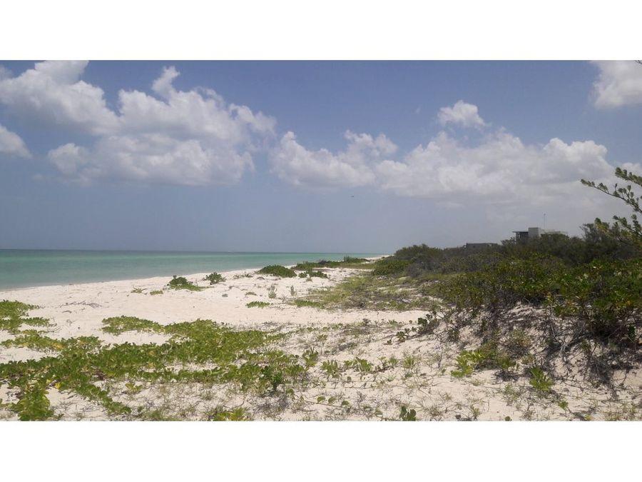 se vende terreno frente al mar cerca del palmar