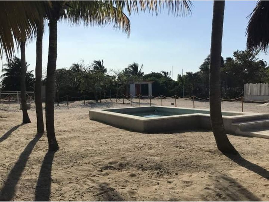 casa palapa en chelem progreso yucatan
