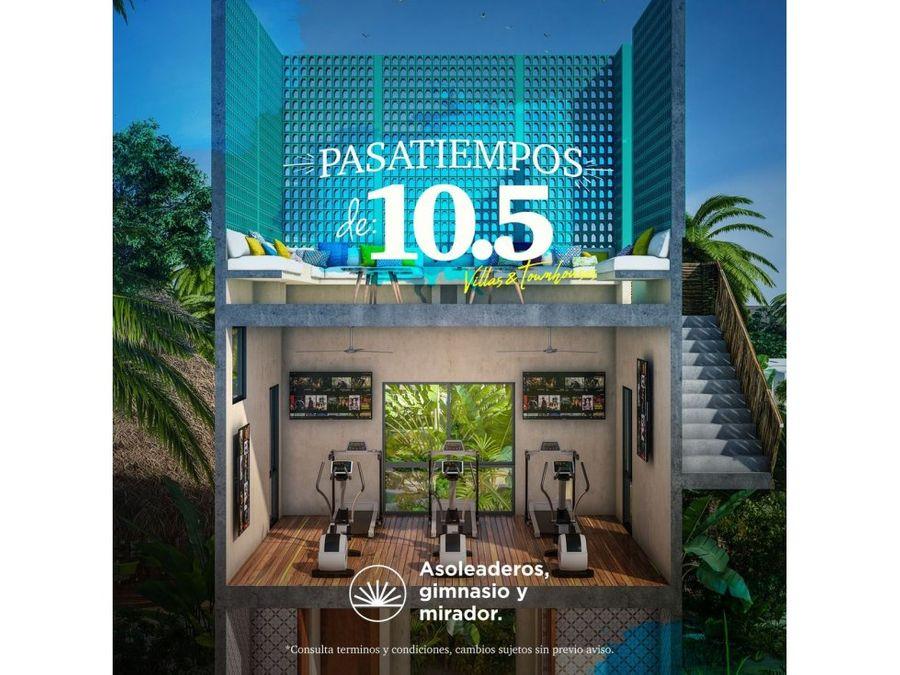 diezcinco townhouse y villas en chicxulub yucatan