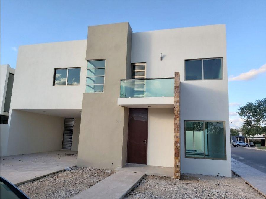 casa en privada guayacan conkal yucatan