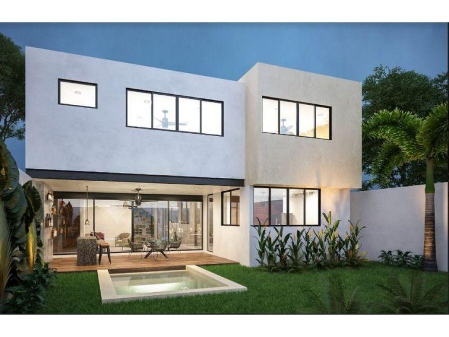 residencia en desarrollo tamora 150 3 en conkal