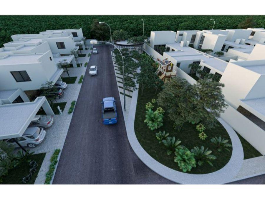 casas areca en residencial savara en conkal