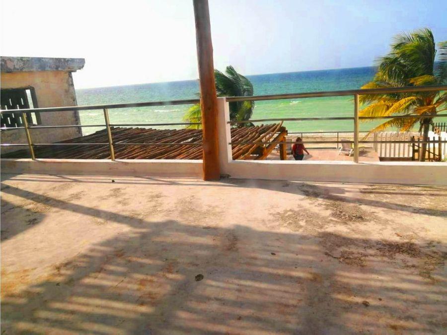 casa amueblada frente al mar de telchac