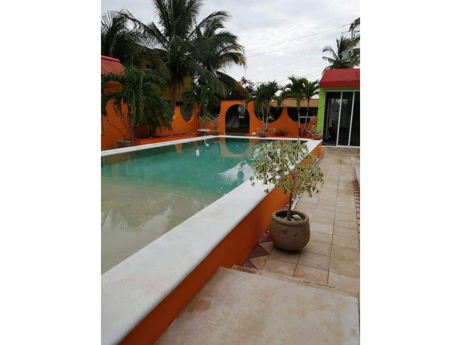 para hotel boutique tipo hacienda en playa de chelem progreso yuc