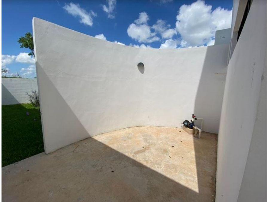ultima bella casa vivanta en privada mediterrania en conkal