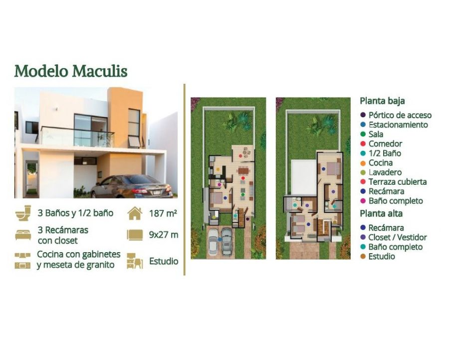 exclusivas casas al norte de merida
