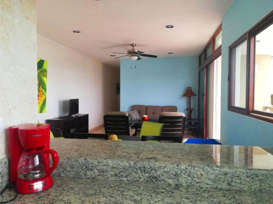 apartamento amueblado a 200 mtrs del mar chicxulub