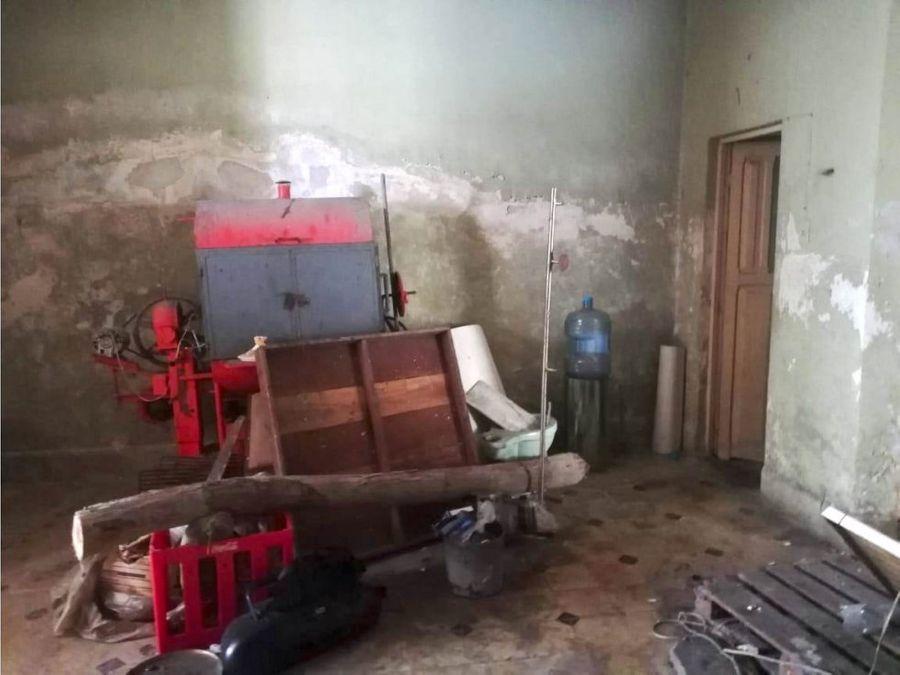 casa para restaurar en santa ana centro
