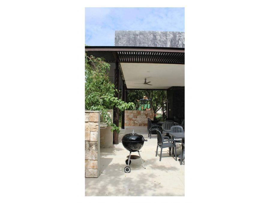 residencial de un piso botanico conkal en merida yucatan