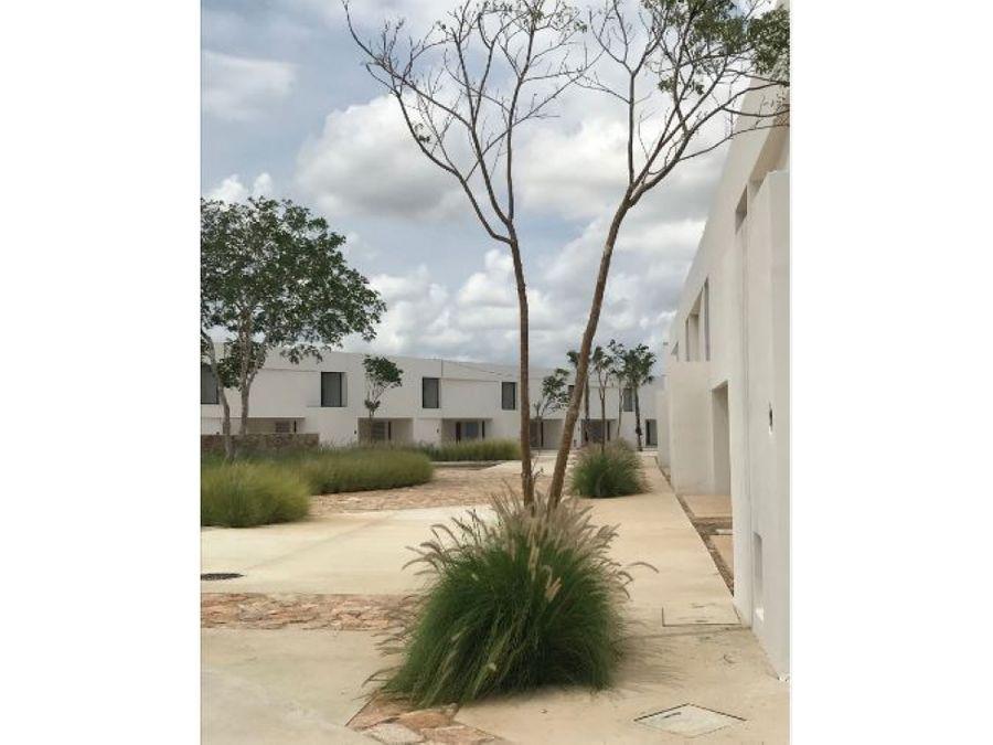 residencial oasis con amenidades en cholul de 3 recamaras