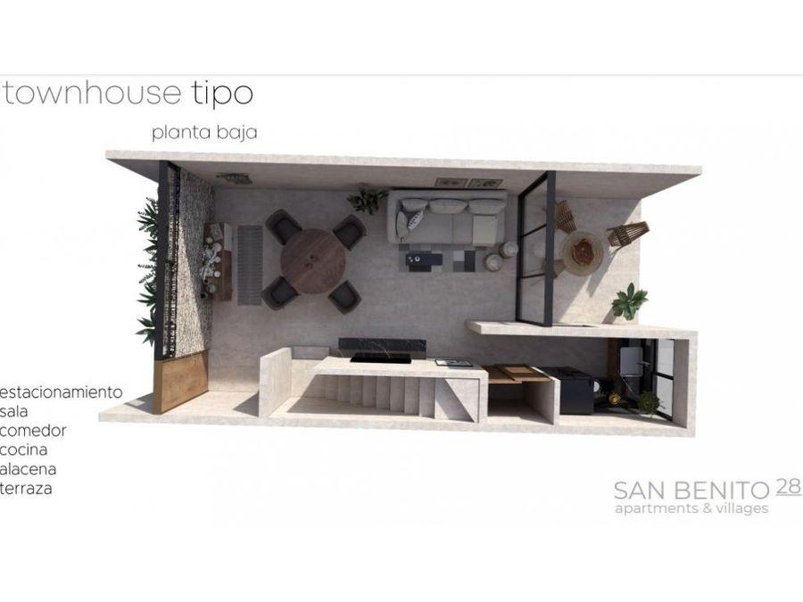 san benito 28 apartamentos y townhouses