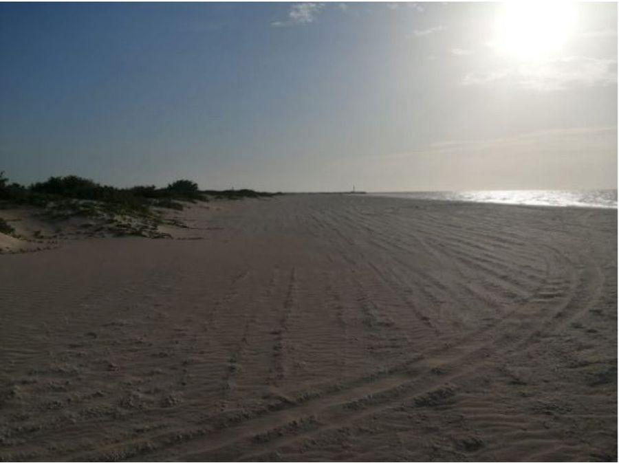 terrenos frente al mar de chuburna