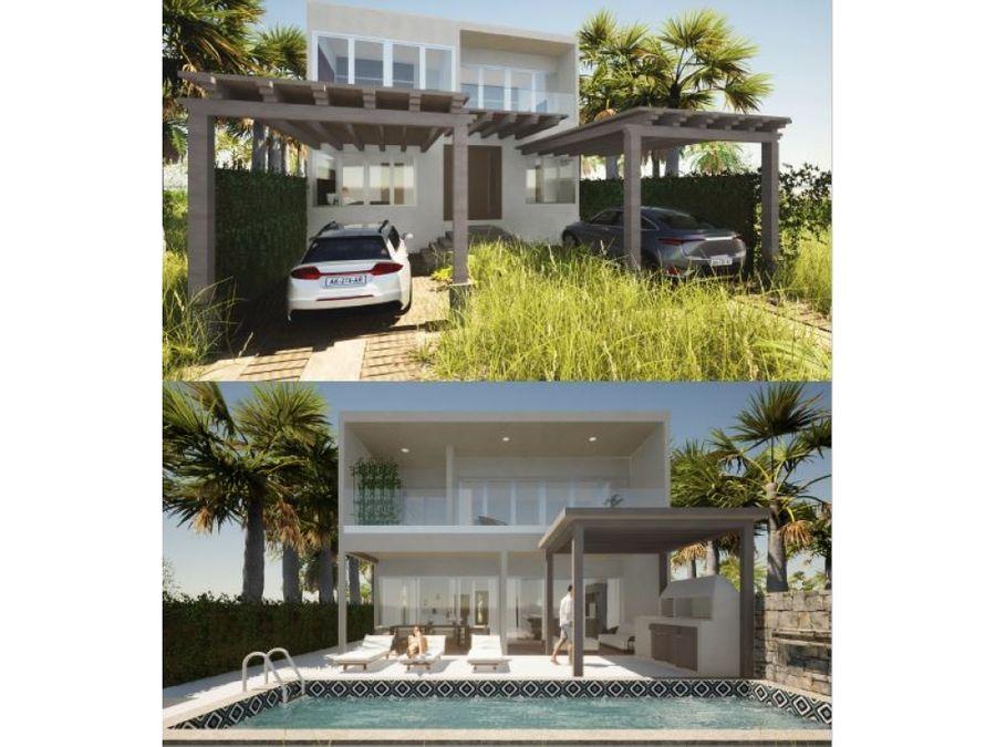 preciosas casas en via costela en pre venta