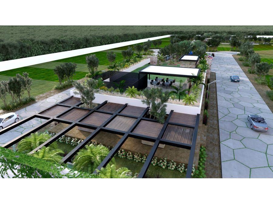 terrenos en preciosa residencial entre parques tixcuytun yucatan