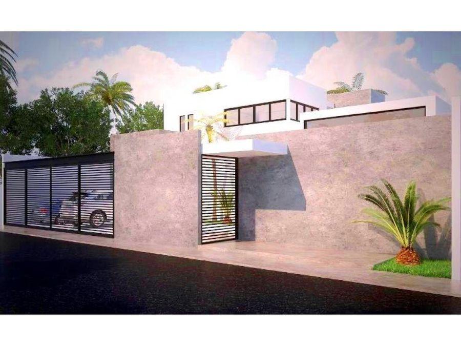 casa nueva en esquina en venta en dzitya