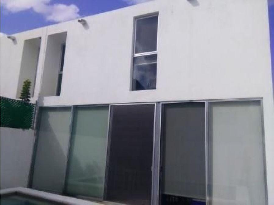 casa en venta en privada residencial aurea