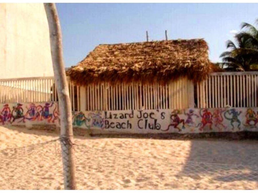 oportunidad de negocio en la playa