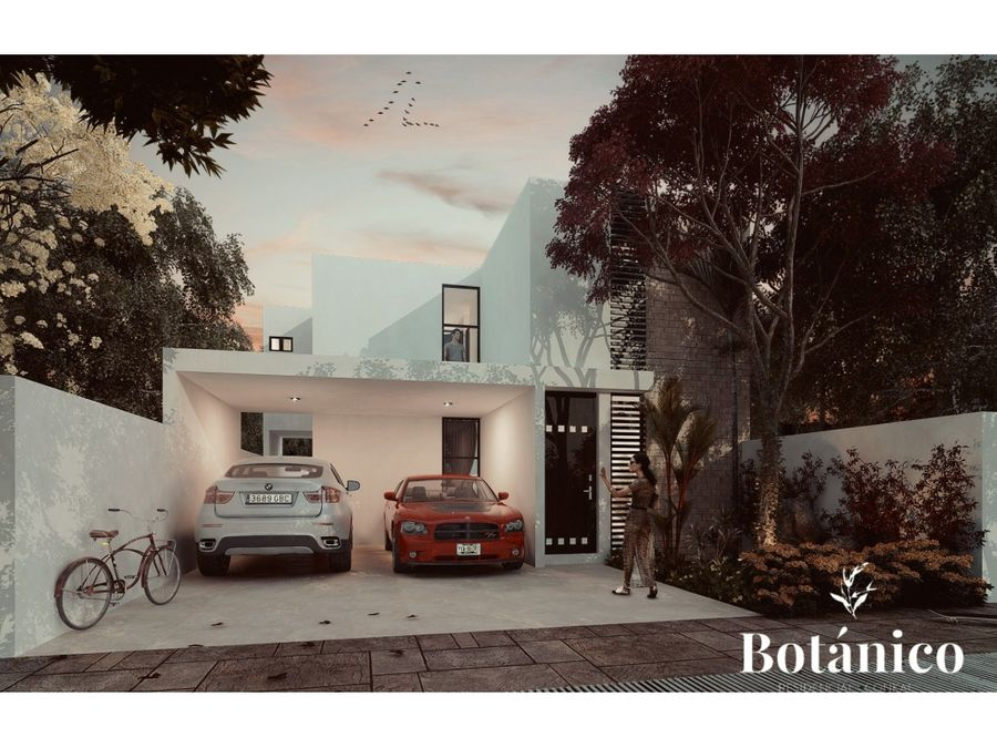residencial botanico conkal en merida yucatan