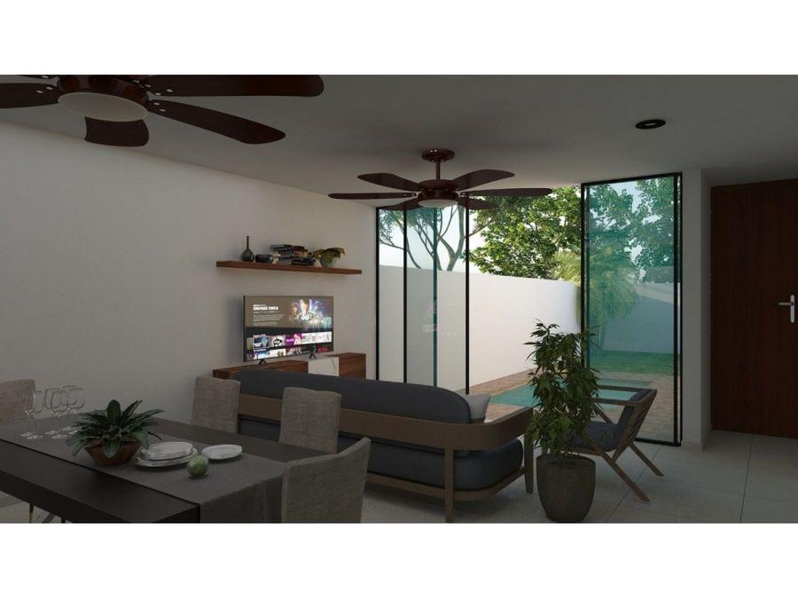 casa en gran san pedro cholul de 1 piso merida yucatan