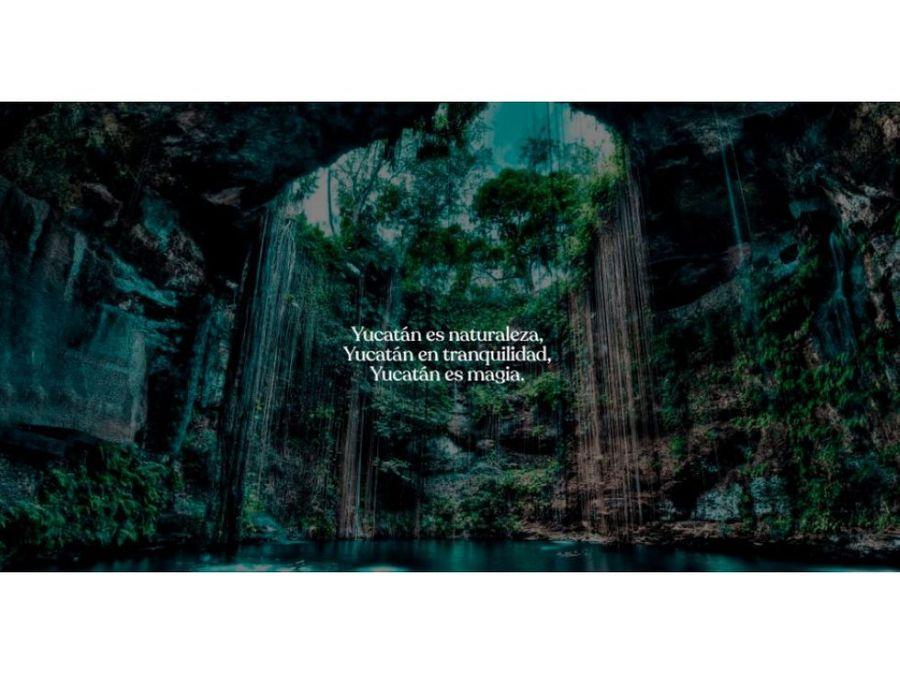 terrenos preventa ensueno en yaxkukul yucatan