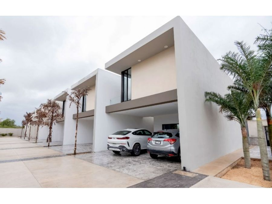 preciosas privadas kanan luxury homes en temozon norte