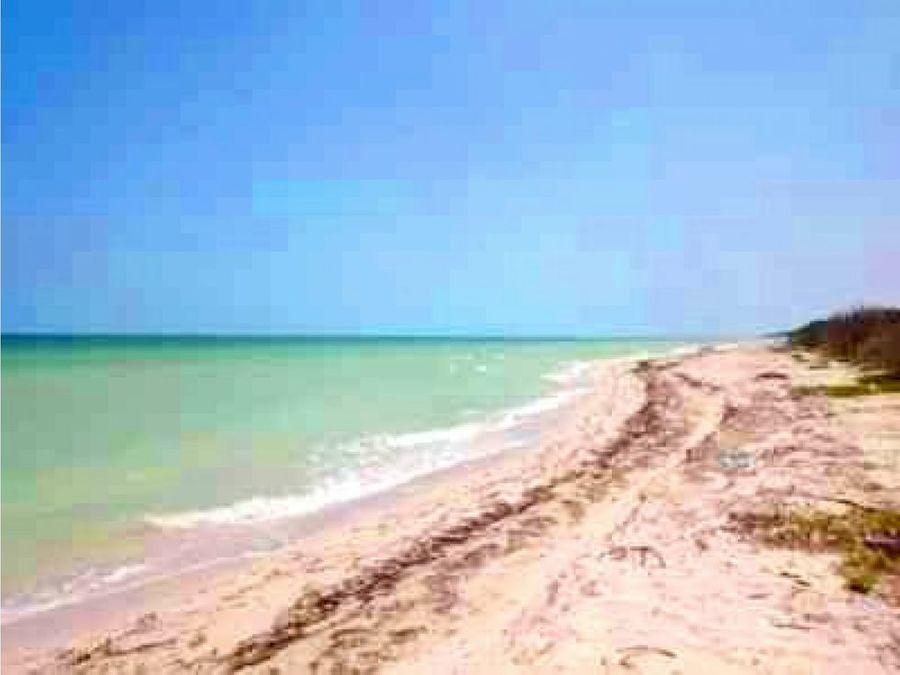 terreno frente al mar km 23 en san benito