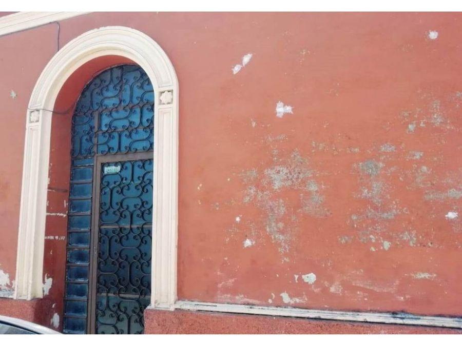 gran casa estilo colonial centro de merida