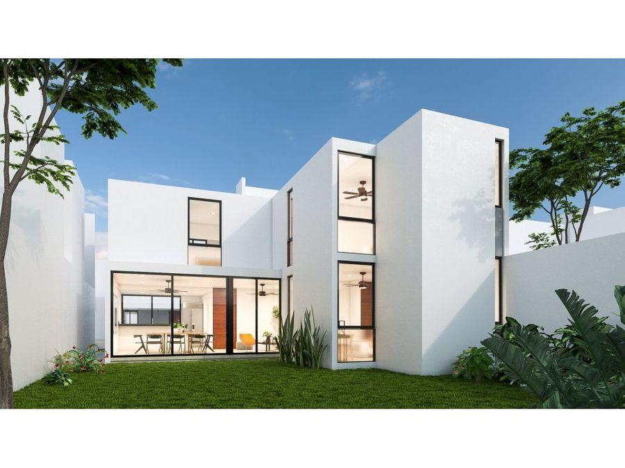 casas en privada otavia en conkal mod 170