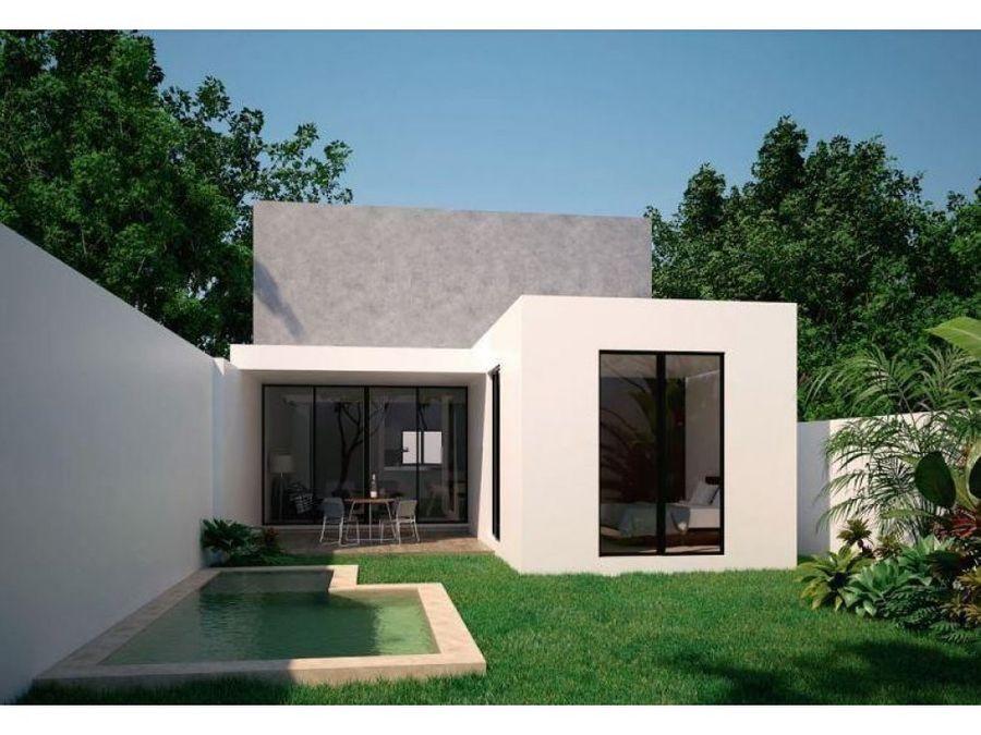 casa modelo basico en privada zendera