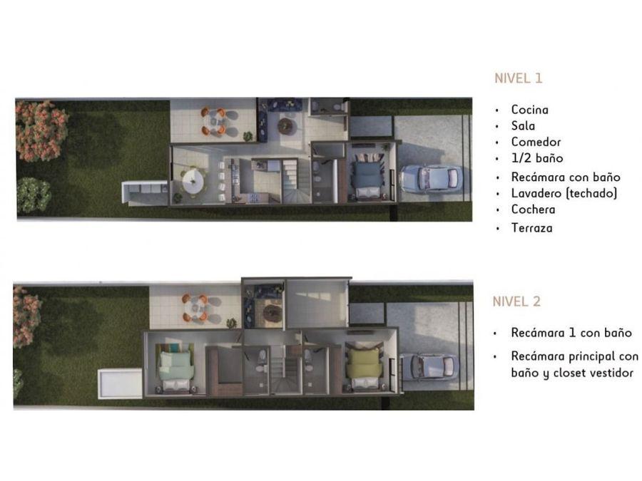 casa zensia modelo h en conkal
