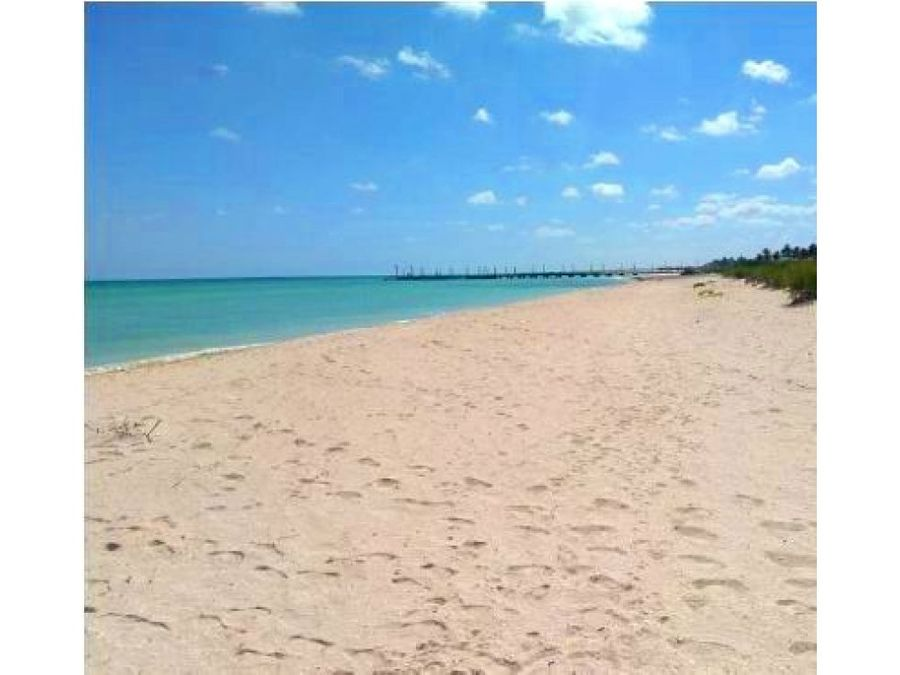 lotes frente al mar con plan de financiamiento en sisal yucatan